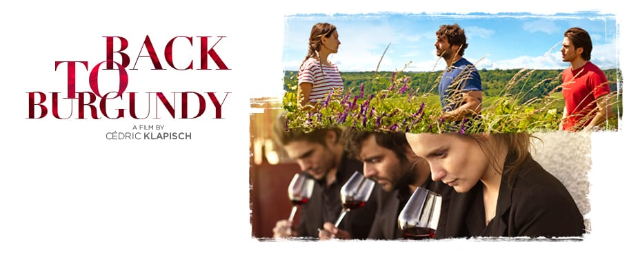 Movie banner of Back to Burgundy